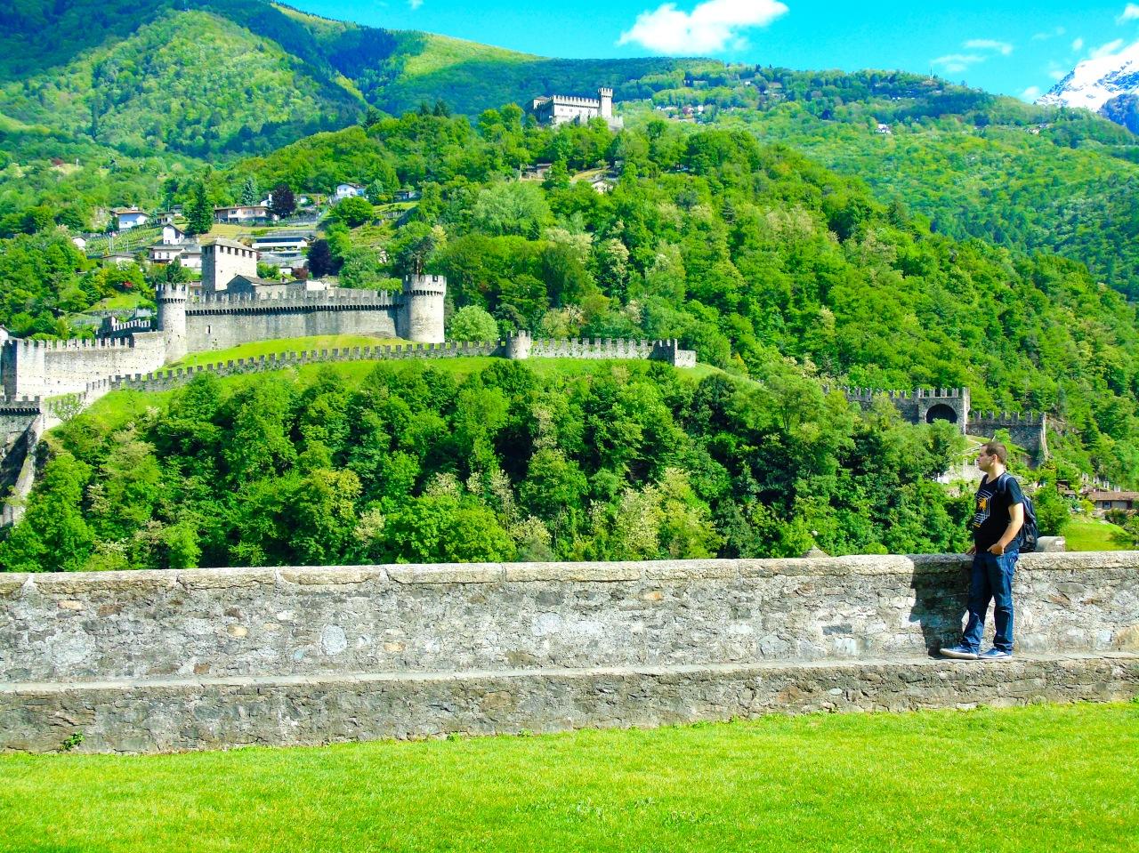 Castillo de Castelgrande(Suiza)
